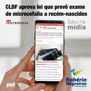 CLDF aprova lei que prevê exame de microcefalia a recém-nascidos